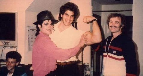 Mike and Lou Ferrigno