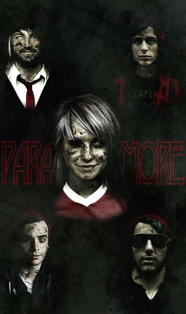 Paramore as zombies ahhhh