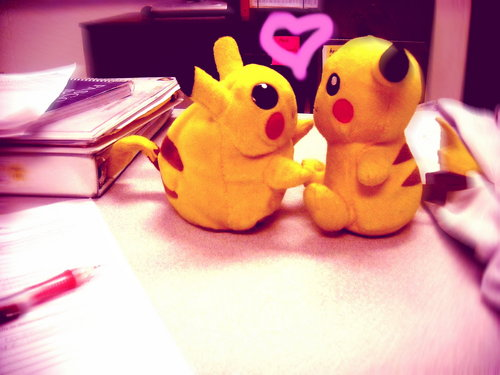 Pika Lovin' - pikachu Photo