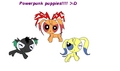 Powerpunk puppies!! - powerpuff-and-rowdyruff-animals fan art