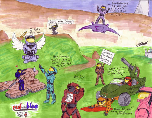 RvB group fanart