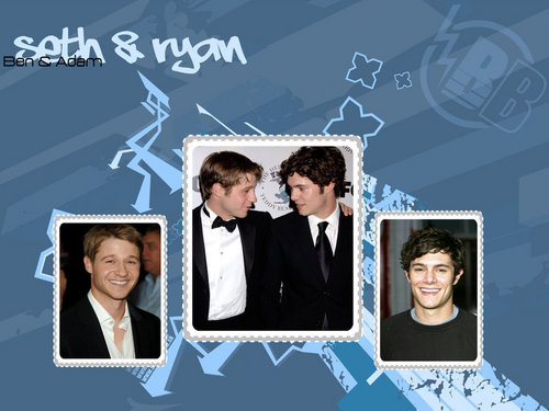 Ryan and Seth - the-oc Wallpaper