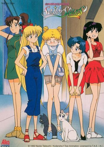 Sailor Moon Sailor Stars দেওয়ালপত্র called Sailor Stars