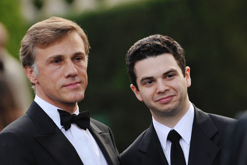 Samm & Christoph Waltz @ Cinema Against AIDS Benefit 2009