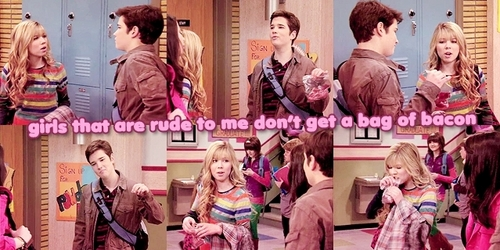 Sam and Freddie wallpaper titled Seddie Picspam