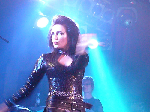 Siouxsie Sioux (2007 show, concerto photo)