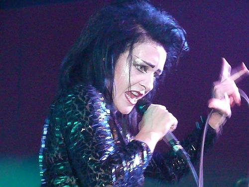 Siouxsie Sioux (2007 konzert photo)