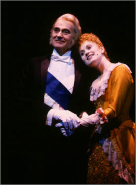 Sir Danvers (Barrie Ingham) with Emma