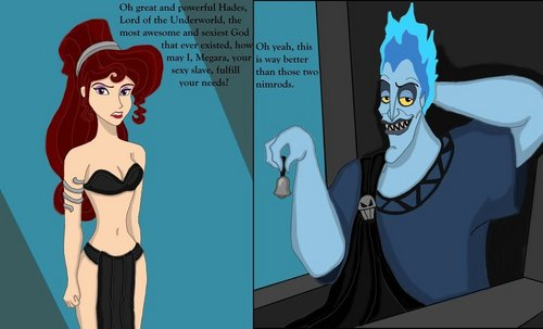Slave of Hades - hades-and-megara Fan Art
