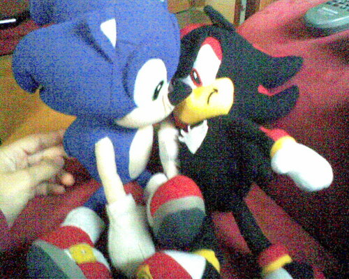 Sonadow wallpaper entitled Sonadow pluchi made by Sara Nunes^^
