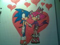 Sonaze by Sara Nunes - sonic-couples wallpaper
