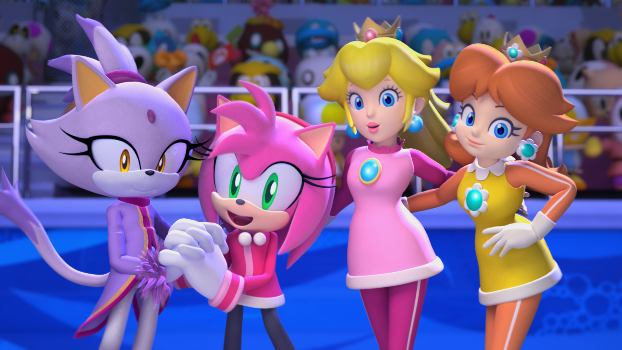 Sonic The Hedgehog Images Sonic N Mario Girls Hd Wallpaper And