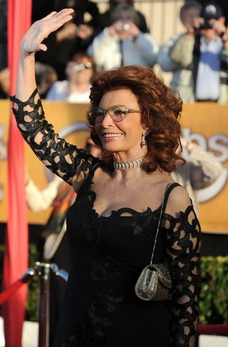 Sophia Loren - 16th Annual Screen Actors Guild Awards in Los Angeles (HQ)