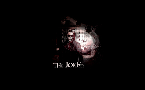 The Joker kertas dinding called The Joker