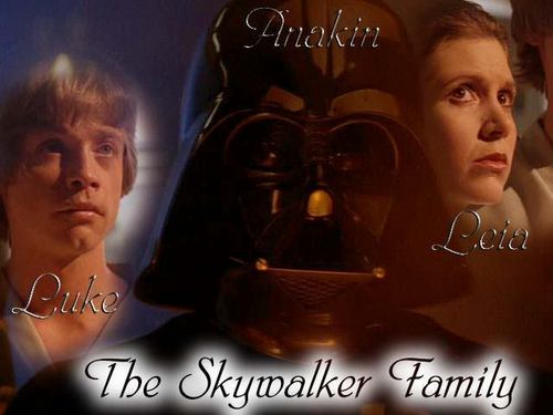The Skywalker Family Hintergrund called The Skywalkers
