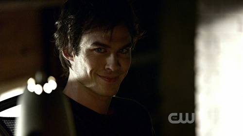 Damon Salvatore kertas dinding entitled The Vampire Diaries