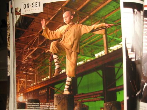 The last Airbender Set चित्र - Aang