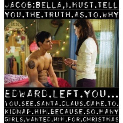 Critical Analysis of Twilight achtergrond entitled Twilight/New Moon : Funny !!