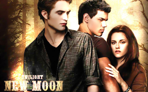 Twilight and New Moon achtergronden