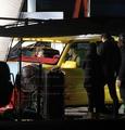 lady-gaga - Updated Pics On The Set Of 'Telephone' Music Video screencap