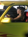 lady-gaga - Updated Pics On The Set Of 'Telephone' Music Video screencap