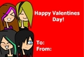 Valentines:D - total-drama-island fan art