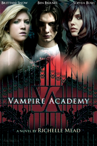 vampire academy movie poster vampire academy fan art