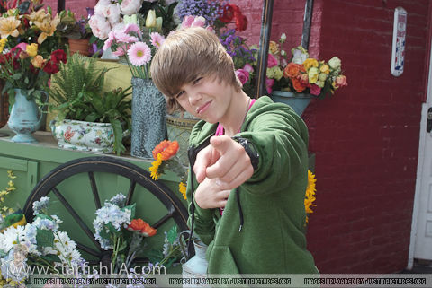 "Video Shoot For ""One Less Lonely Girl"""