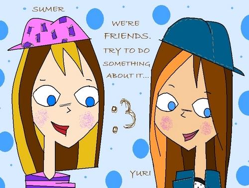 Yuri and Sumer <3