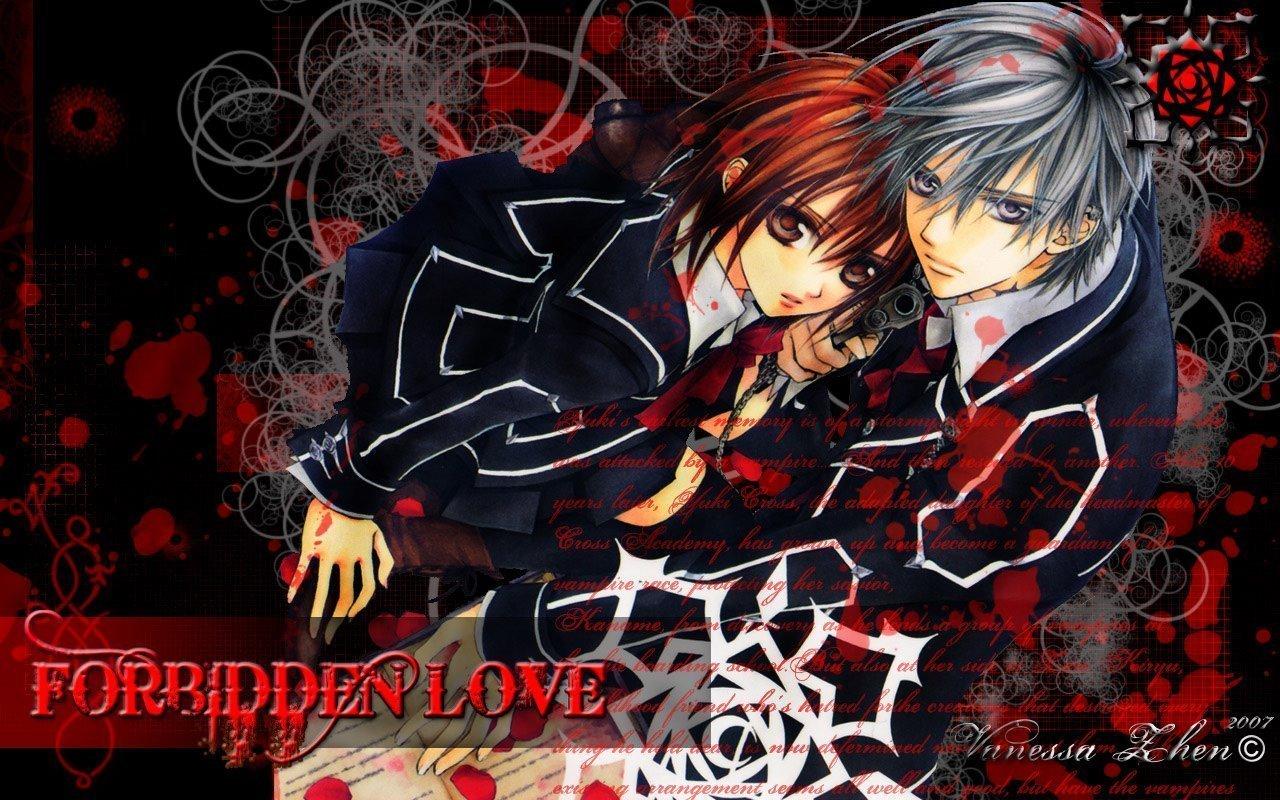Vampire Knight Wallpaper: Yuki X Zero = Love Wallpaper ...