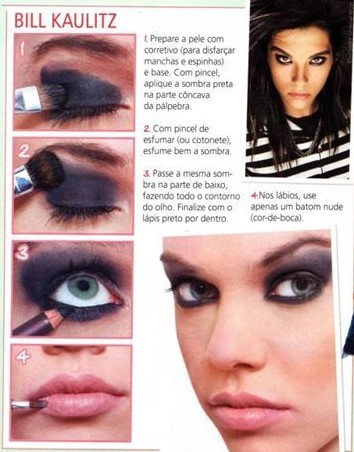 bill make-up - tokio-hotel Photo