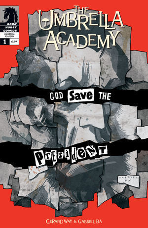 cover of one of gerards comic from the umbrella academy