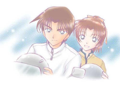 heiji and kazuha <3