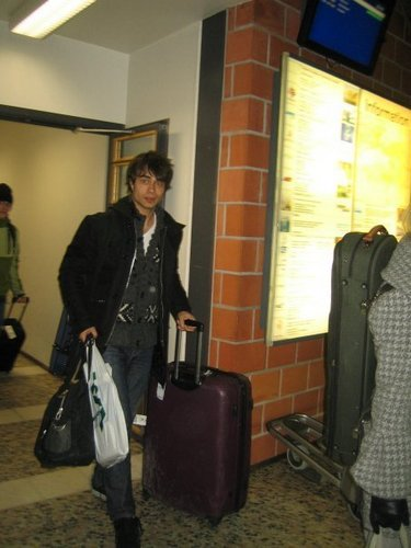 in Tampere Pirkkala airport at 10 p.m on 29th of Jan. 2010