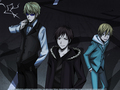 just another normal night *OR IS IT?* - durarara wallpaper