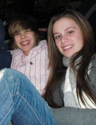 justin bieber and ex`girlfriend