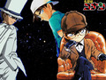 kudo, hattori, kaito - detective-conan wallpaper