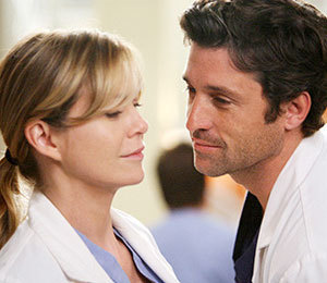 Grey's Anatomy Couples 壁紙 entitled merder