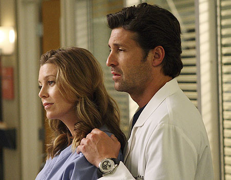 Grey's Anatomy Couples Hintergrund entitled merder