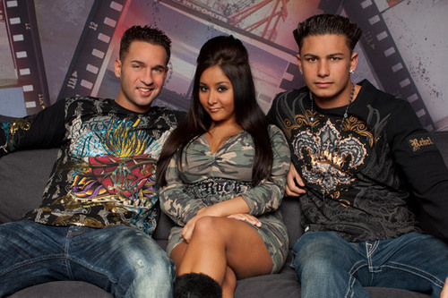 mike ,snooki,and pauly d