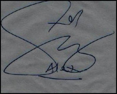 selena signature