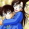 shinichi and ran &lt;3 - detective-conan photo