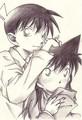 shinichi and ran <3