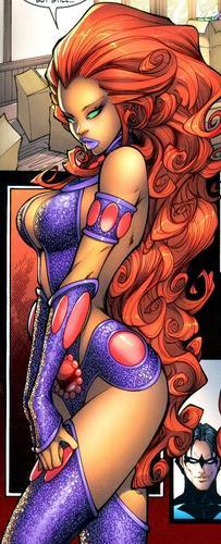 Teen Titans wallpaper called starfire
