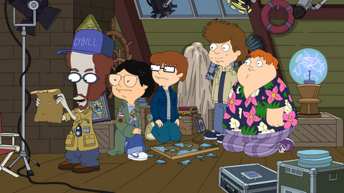 American Dad! wallpaper called steve and friends