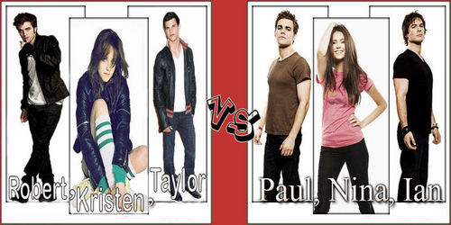 twilight  saga vs the vampire diaries