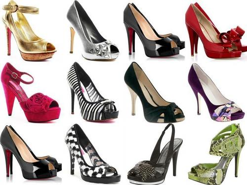Hintergrund women shoes