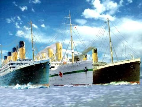 R.M.S. TITANIC images white star sisters wallpaper and background photos