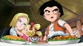 #18 , Krillin and Marron - android-18 screencap