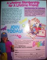 """Lifetime Membership"" Ad - lisa-frank photo"